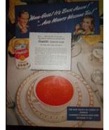 Vintage Campbell's Soup Week October 17-26  Print Magazine Advertisement... - $6.99