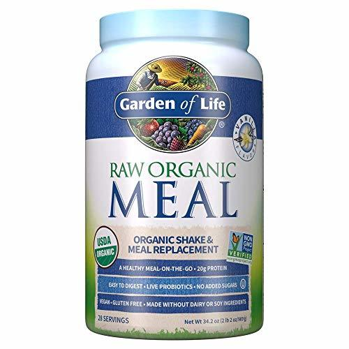 Garden of Life Raw Organic Meal Replacement Powder - Vanilla 28 Servings 20g ... - $61.54