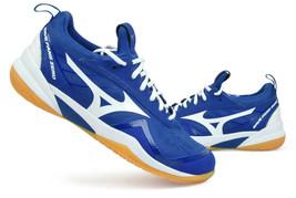 Mizuno WAVE FANG ZERO Badminton Shoes Squash Table Tennis Blue Indoor 71... - $125.01