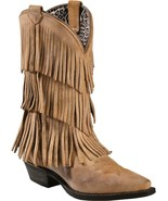 DINGO DI7442 Fringe Boots Size 8M - $116.99