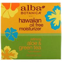 Alba Botanica, Hawaiian Oil Free Moisturizer, Refining Aloe and Green Te... - $26.85