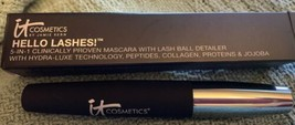 IT Cosmetics Hello Lashes 5 - in - 1  Mascara  .33 ounces Black NEW - $15.79
