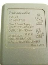 Panasonic PQLV1 AC Power Supply Class 2 Adapter 9V 500mA - $130,29 MXN