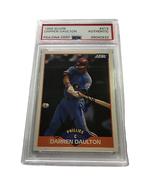 Darren Daulton Autographed Baseball Card PSA - $35.00