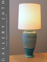 GREEK REVIVAL MID CENTURY TABLE LAMP! Eames Vtg Blue Green Lampen Lumina... - €1.126,04 EUR