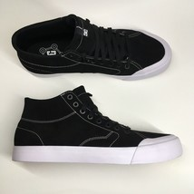 DC Shoes Men's Size 12 Evan Smith Hi Zero Black with White Sole - $44.55