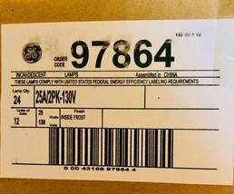 GE BOX 97864 Incandescent 25W Frosted Bulbs 24 Bulbs NIB - $34.64