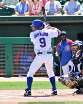 Original Reed Johnson Chicago Cubs Pic 8x10 2008 PhotoArt Vintage Classic - $4.77
