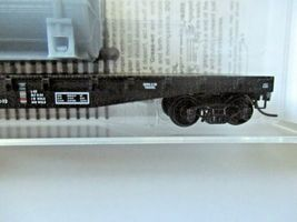 Micro-Trains # 04500540 Erie Lackawanna 50' Flat Car with Load N-Scale image 3