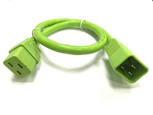 Primary image for RiteAV - Heavy Duty Extension Power Cord, C19 TO C20, 12AWG, 20 AMPS, 250V (Gree