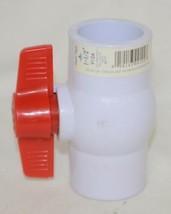 Aqua Tech 9124 One And Half Inch Solvent PVC Ball Valve 150PSI image 2
