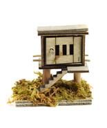 Wooden Chicken Coop, Farmer's Hen House, Farm Animal Pen, Fairy Garden A... - £4.73 GBP