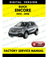 Buick Encore 2014 2015 2016 Service Repair Manual - $7.69