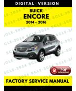 Buick Encore 2014 2015 2016 Service Repair Manual - $7.69