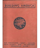 5 BUILDING AMERICA Vol 1 2 3 5 & 6 (1942) Hardcovers BIG BOOKS Illustrat... - $69.99
