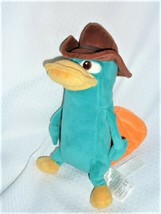 """Disney Store Perry the Platypus Plush 9"""" Phineas and Ferb Soft Stuffed P... - $12.86"""