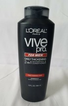 L'Oreal Paris Vive Pro For Men Daily Thickening Shampoo, 13.0 Fluid Ounce - $68.30