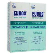 2 X EUBOS SENSITIVE SHOWER OIL F 200ML FREE SHIPPING - $47.90