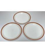 Corning Corelle Cinnamon Chestnut Lunch Plates Set of 3 - $20.99