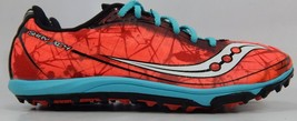 Saucony Shay XC4 Size 7.5 M (B) EU 38.5 Women's Track Shoes Blue Orange S19010-1