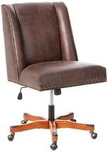 Linon Home Décor Brookville Brown Office Chair, - $308.24