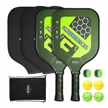 A11N Premium Pickleball Paddle Set - Graphite Face and Honeycombed Polym... - $71.31