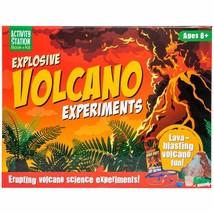 Explosive Volcano Escience Book & Kit w - $13.99