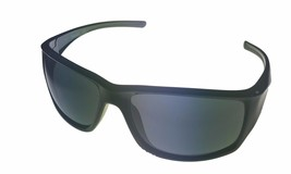 Timberland Mens Sunglass Black Rectangle, Smoke Lens Plastic Wrap TB7152 1A - $17.99