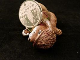 Department 56 Garden Guardians Chester the Chipmunk w Walnut Helmet Twig Spear image 9