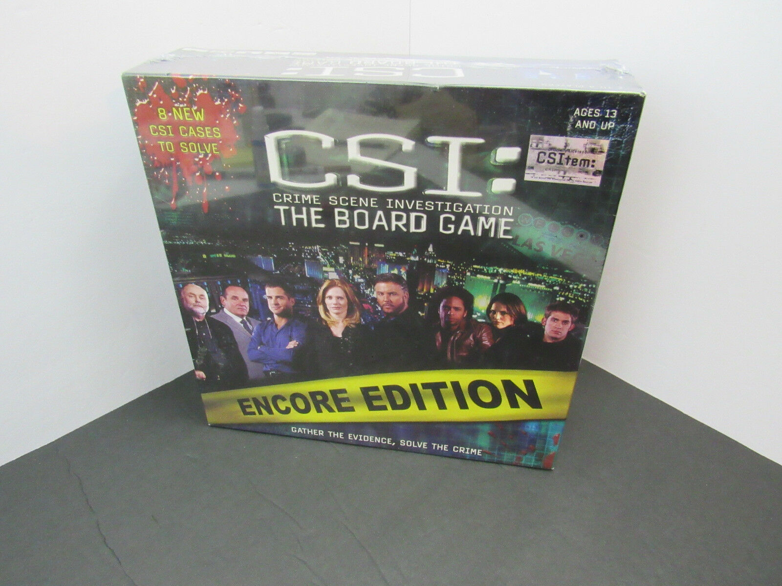 Primary image for CSI: Crime Scene Investigation The Board Game ENCORE EDITION :f6
