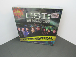 CSI: Crime Scene Investigation The Board Game ENCORE EDITION :f6 - $11.87