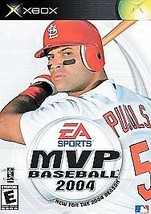 MVP Baseball 2004 (Microsoft Xbox, 2004) Complete With Case And Instruct... - $5.90