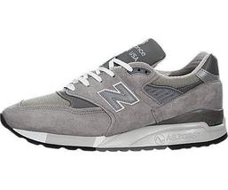New Balance 998 Shoe - Men's Heritage - Grey, 12.0 - $178.15