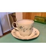 Vtg Johann Haviland Blue Garland Bavaria Germany China Coffee Cup & Saucer - $9.99