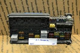 09-12 Mercedes R350 ML320 GL350 Rear Fuse Relay A1645403372 Box 137-12C5 - $44.99