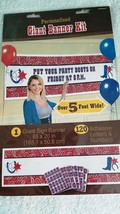 Western Theme Cowboy Personalized Giant Party Banner Party-  New / Sealed - $14.98