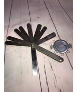 Vintage Kastar Precision Machinist Inspection Gauge USA and Spark plug gap - $9.49