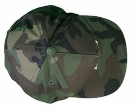 Another Enemy Football League EFL Green Camo Camouflage Snapback Baseball Hat NW image 4