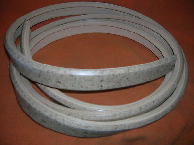 "Intl. Plastics D.Suede Bevel Bullnose T-Molding Size:1 1/4"" X 10 '#415 40-0060"