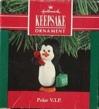 1990 Hallmark Keepsake - Polar VIP Penguin Carrying Briefcase Christmas ... - $3.55