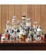 Two's Company Apotheke Set of 24 Vintage Apothecary Jars - $249.48