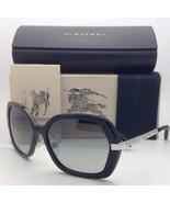 Nuevo Burberry Gafas de Sol B 4153-q 3001/11 58-16 135 Negro W/ Gris Deg... - $229.51