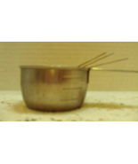 Vintage FOLEY Stainless Steel Measuring Cups // Retro Measuring Cups // ... - $12.99