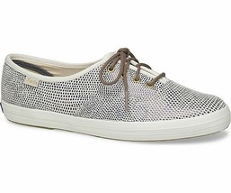Keds WH58934 Women's Shoes Champion Dalmata Leather Blue, 7 Med - $39.59