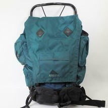 Kelty Trekker Hiking Backpack Green External Frame Size Medium M - $49.49