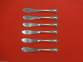 Delacourt by Lunt Sterling Silver Trout Knife Set 6pc HHWS  Custom Made - $419.00
