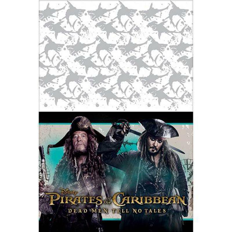 Primary image for Pirates of the Caribbean Dead Men Tell No Tales Table Cover 1 Ct Party Supplies