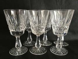 Waterford Kylemore Cut Crystal Wine/Water Goblets (6) Christmas Glassware - $207.90