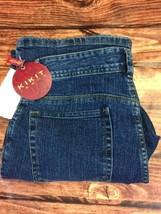 NWT KIKIT jeans Size 10 Bootcut Stretch Medium Wash zipper fly (L) - $12.19