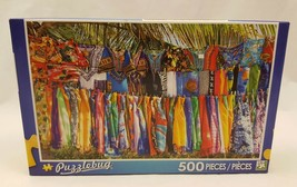 New and Sealed 2015 Standshop on the Beach 500 Piece Puzzle by PuzzleBug - $4.99